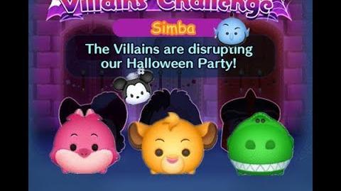 Disney Tsum Tsum - Simba (Disney Villains' Challenge - Jafar Map 16)