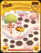 Pooh's Hunny Festival Card 3c