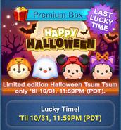 DisneyTsumTsum LuckyTime International Halloween2016 Screen1 201610