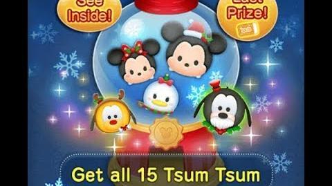 Disney Tsum Tsum - Holiday Goofy