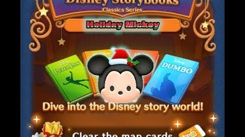 Disney Tsum Tsum - Holiday Mickey (Disney Story Books - Dumbo 14)