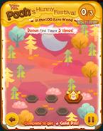 Pooh's Hunny Festival Bonus Card a