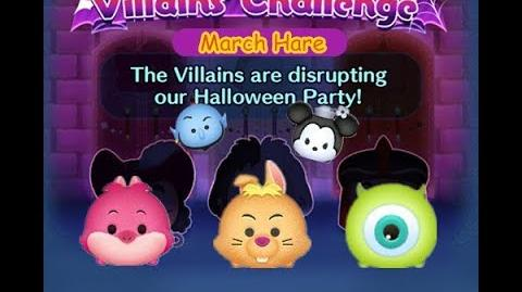 Disney Tsum Tsum - March Hare (Disney Villains' Challenge - Cruella Map 7)