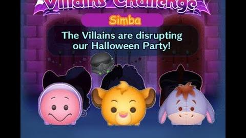 Disney Tsum Tsum - Simba (Disney Villains' Challenge - Jafar Map 12)