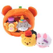 DisneyTsumTsum PlushSet PoohPumpkinHouse jpn 2016 Mini 2