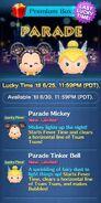 DisneyTsumTsum LuckyTime International ParadeMickeyParadeTink Screen3 201706