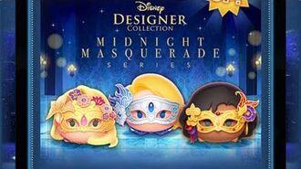 Disney Tsum Tsum - Masquerade Rapunzel (JP ver) マスカレードラプンツェル