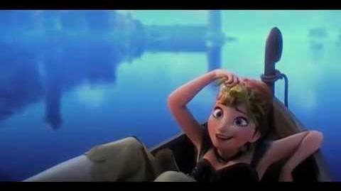 Frozen-anna meets hans