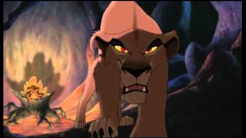 Lion King Zira Be prepared