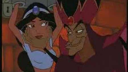 Return Of Jafar - Chamber scene