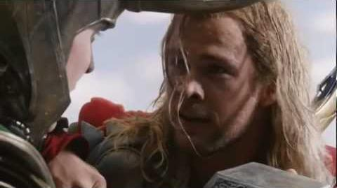 The Avengers-Thor VS Loki Final Battle (HD Scene)