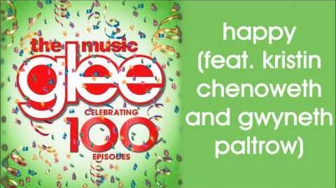 Glee - Happy (feat. Kristin Chenoweth and Gwyneth Paltrow)
