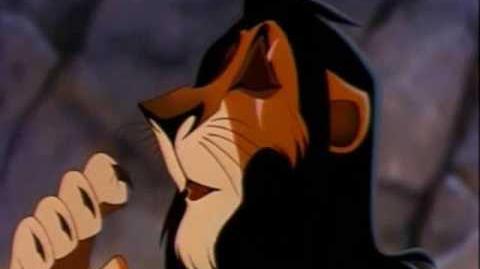 The Lion King - Simba & Scar (English)