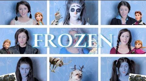 One Woman Frozen Medley Georgia Merry