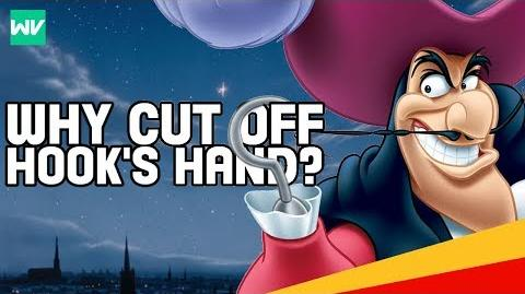 Why Did Peter Pan Cut Off Hook's Hand? Disney Theory Discovering Disney