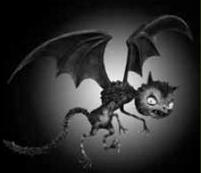 Frankenweenie Vampire Cat