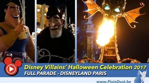 The Disney Villains' Halloween Celebration FULL PARADE Disneyland Paris Halloween Party 2017