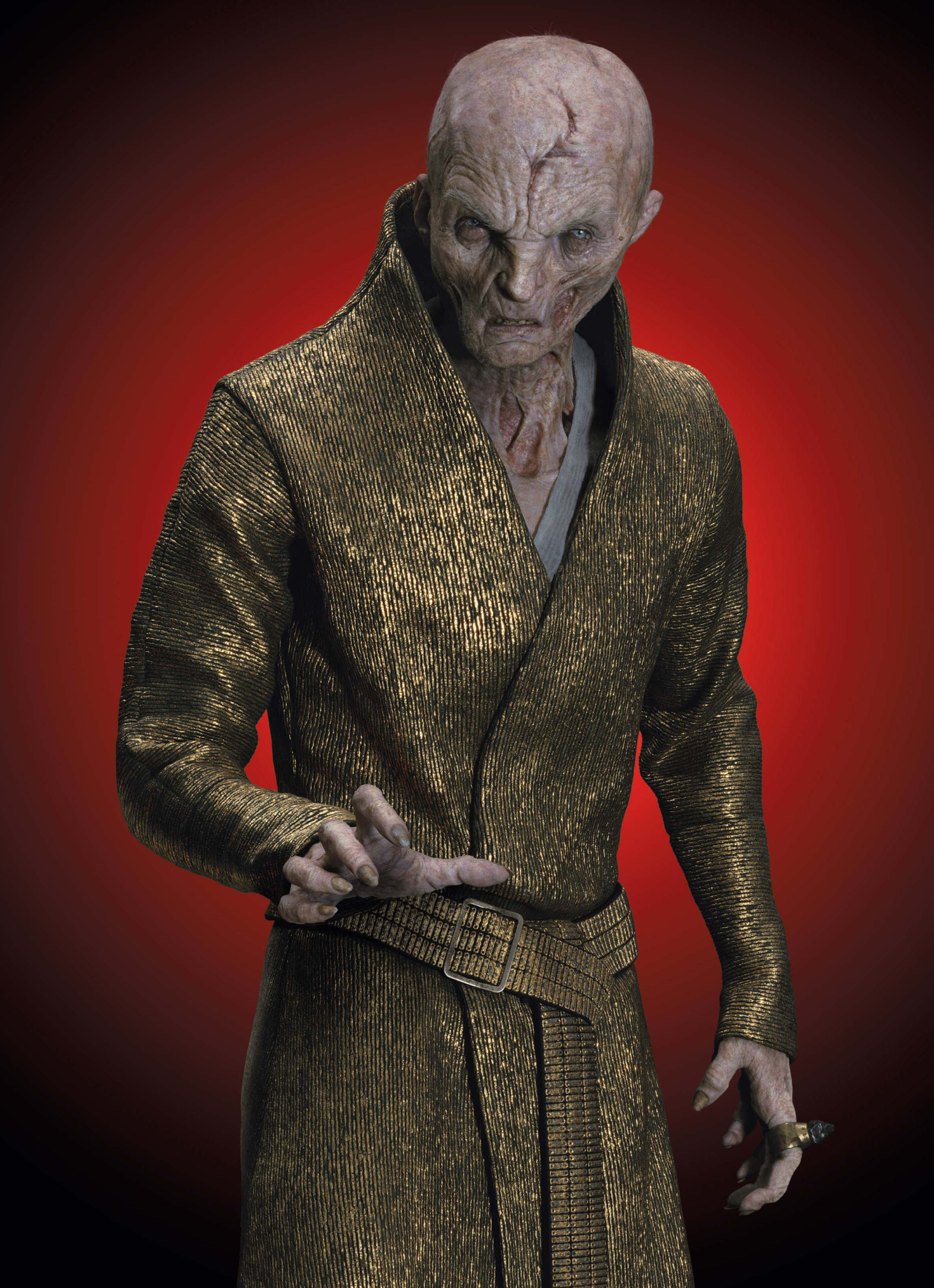 Supreme Leader Snoke Wickedpedia Fandom Powered By Wikia