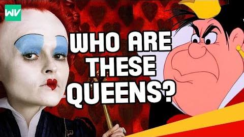The Queen of Hearts & Red Queen History & Full Story Explained Discovering Alice In Wonderland