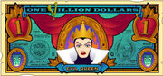 The Evil Queen's One Villain dollar bill