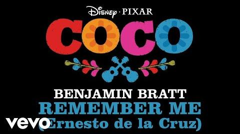 "Benjamin Bratt - Remember Me (Ernesto de la Cruz) (From ""Coco"" Audio Only)"