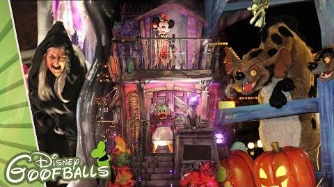 Disneyland Paris Halloween Party 2018.Video Disney Villains Halloween Celebration Halloween