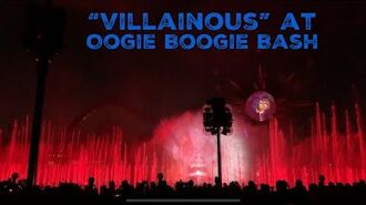 """Villainous!"" At Oogie Boogie Bash - Disney California Adventure 2019"