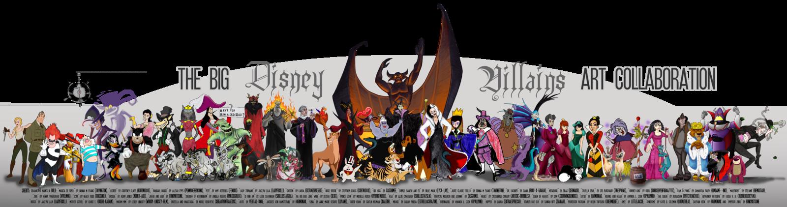 All Disney Villains List