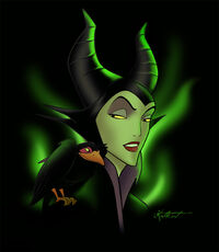 Maleficent by Katikut