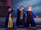 Elliot, Amy, and Kurt
