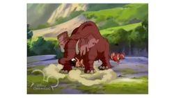 Mbaya the rogue elephant by nandotosetti-d4ic75p