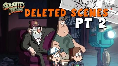 Gravity Falls DELETED Scenes & Storylines (Pt. 2) - Never Before Seen!
