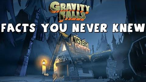 Gravity Falls Facts You Never Knew!