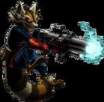 Rocket Raccoon Comic