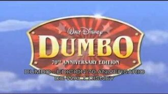 Dumbo 1941 Trailer español
