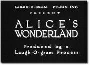 Alice's Wonderland (1923)