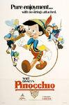 Pinocchio Poster Relanzamiento 2