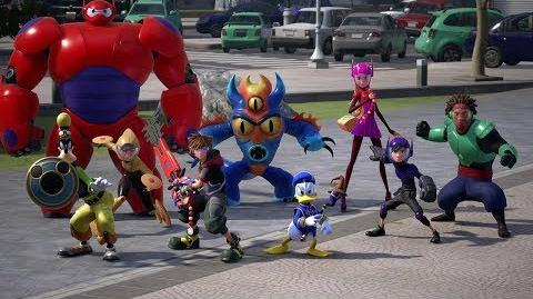 KINGDOM HEARTS III – TGS Big Hero 6