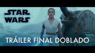 Star Wars El Ascenso de Skywalker – Tráiler Final latino