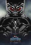 Pantera Negra Poster Lego