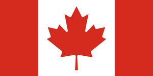 Canadá Bandera