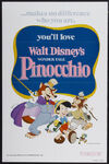 Pinocchio Poster Relanzamiento