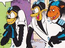 Professors Ecks, Doublex, and Triplex