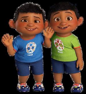 Primos Benny y Manny