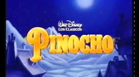 Pinocho (Trailer español)