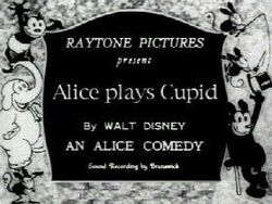Alice Plays Cupid
