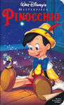 Pinocchio Poster VHS 2
