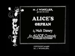 Alice's Orphan