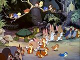 Forest Animals (Blancanieves)