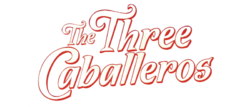 The Three Caballeros Logo